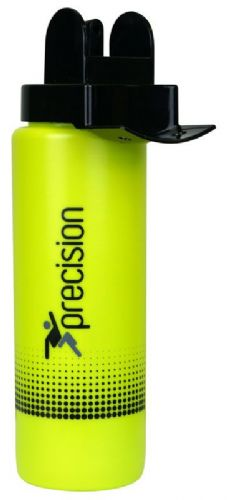Precision Team Hygiene Water Bottle - Black/Green